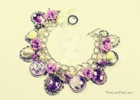 THE BEAUTY OF PROVENCE charm bracelet by MonLoveMonLove