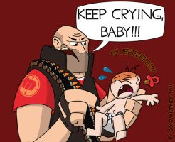 The Heavy is a bad nanny by GonzaHerMeg