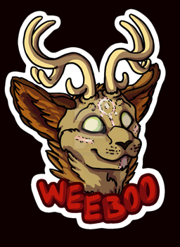 Weeboo Wendigo Badge by SucittarSucivron