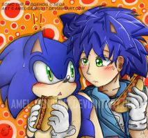 =SONIC= Accidentally meet by Amel-Genius17