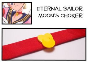 Eternal Sailor Moon Choker by Topaz-Jewelry