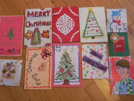 Your cards for the Holiday Card Project 2014-3 by Lou-in-Canada