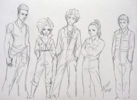 Misfits sketch by Niki-UK
