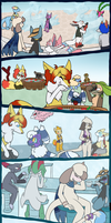 PMD-U . CO and VO . Frosty Festivities by Hawkein