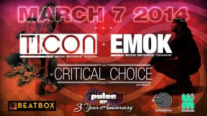Ticon / Emok / Critical Choice HD sign PulseSF by seanwendt