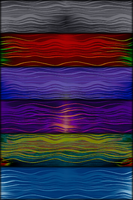 Fabrics - Wavy Lines by allison731