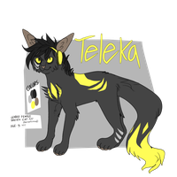 Teleka Reference by demonzeez