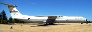 Lockheed C-141B Starlifter by sentinel28a