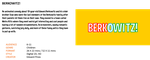 BERKOWITZ! Show Details by ETSChannel