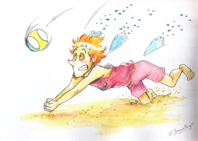 HPM - Volleyball by TamarinFrog