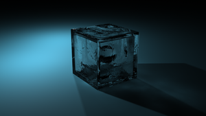 glass cube by Destiny-Blackmoon