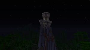 minecraft - the castle in the skies by Fboss90