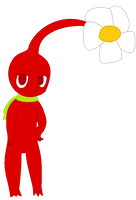 Freddy the Red Pikmin by pikminyellow