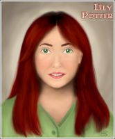 Portrait of Lily Potter by aneesah
