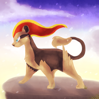 Young Pyroar by Togechick