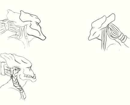 Protoss Head Designs by TheWingedOnes