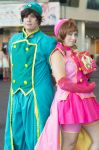 Sakura and Syaoran by fiery-dragon