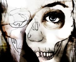Skull by Th3-C0unt3ss