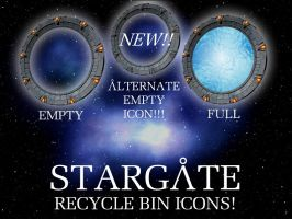 Stargate Recycle Bin Icons NEW by trebory6