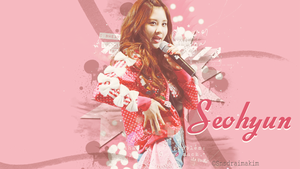 +Wallpaper+ Seohyun by SNSDraimakim