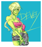 Devey by CagedNightmare