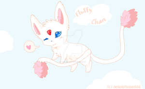 :AT: Fluffy Chan by SpottedpeIt
