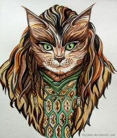 Cat Thorin by Feyjane