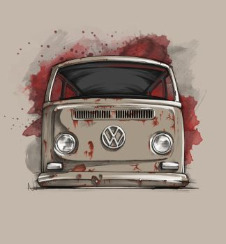 Layed out VW bus by SurfaceNick