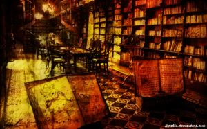 Ancient Library by soakie