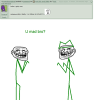Ask Lifty and Shifty 5# Mad bro? by Ask-Cat-and-OCs