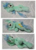 Lying Lyra plushie :D by Rens-twin