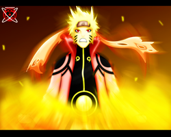 Uzumaki Naruto: Sage of the 6 paths by Kotoamakatsumi
