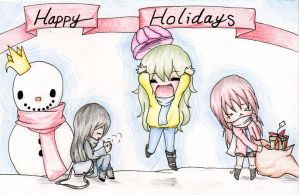 HAPPY HOLIDAYS :D by Captain-Gelowaggle