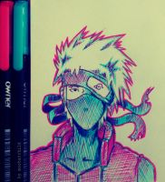 kakashi by mosbatchild