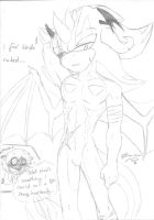 .:Sonic:. The King of Hell's Dragons... eUe by SilverfanNumberONE