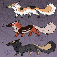 Stubby Fox adopts batch 1 by Chaotic--Edge