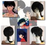 Ranma Cosplay wig by WhiteRavenCosplay