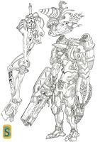 Mecha by bloodsplach