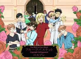 Ouran: Basket Cases by HostClub