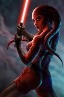 DARTH TALON by platicsavage