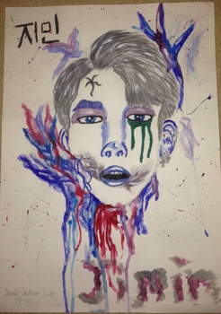 Park Jimin Blood Sweat And Tears by INeedHugs