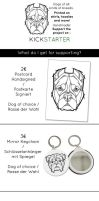 Support Designer Dogs - GET awesome rewards! by Therbis