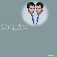 Chris Pine by cecywentz