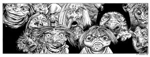 Labyrinth- The Goblins by renonevada
