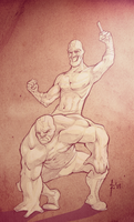 luchadors by robiant