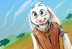 A Bunny Named Rugby by Shantyland