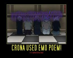 Crona Used Emo Poem! by CelestialEnchantress