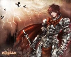 Knight of Underworld by zamboze