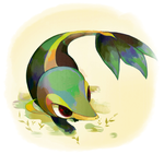 Snivy, the forest alive by humphreywolf2012