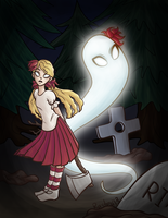 Dont Starve_Wendy and Abigail by RasTear